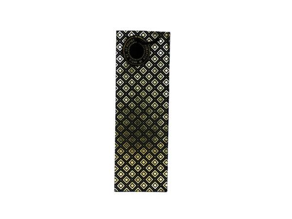 dimaond design wine bags black1 1