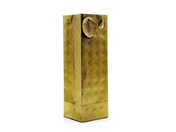 hexagon wine bag gold3 1